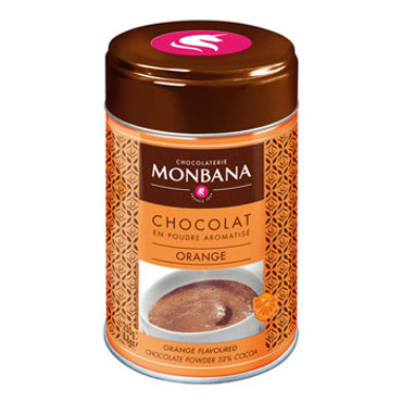 Monbana Flavoured Chocolate Powder Orange