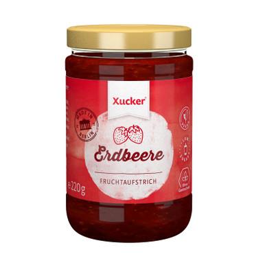 Xucker - Xylit - Fruchtaufstrich Erdbeere 74%