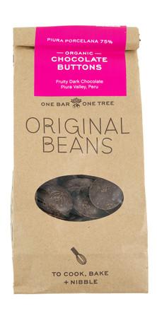 Original Beans- Schokoladenrondos 75%