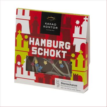"Kakao Kontor- Hamburg Schokt ""Sternschanze"" Bruchschokolade"