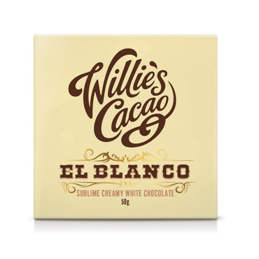 Willie´s Cacao - El Blanco -Weiße Schokolade