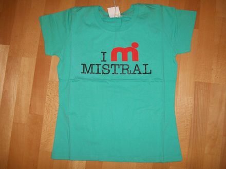 Mistral T-Shirt green-red