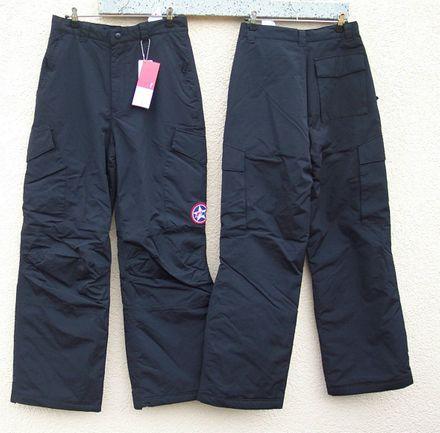 F2 SNOWBOARDHOSE HERREN CAMO PANT  BLACK   Gr.M  NEU !!