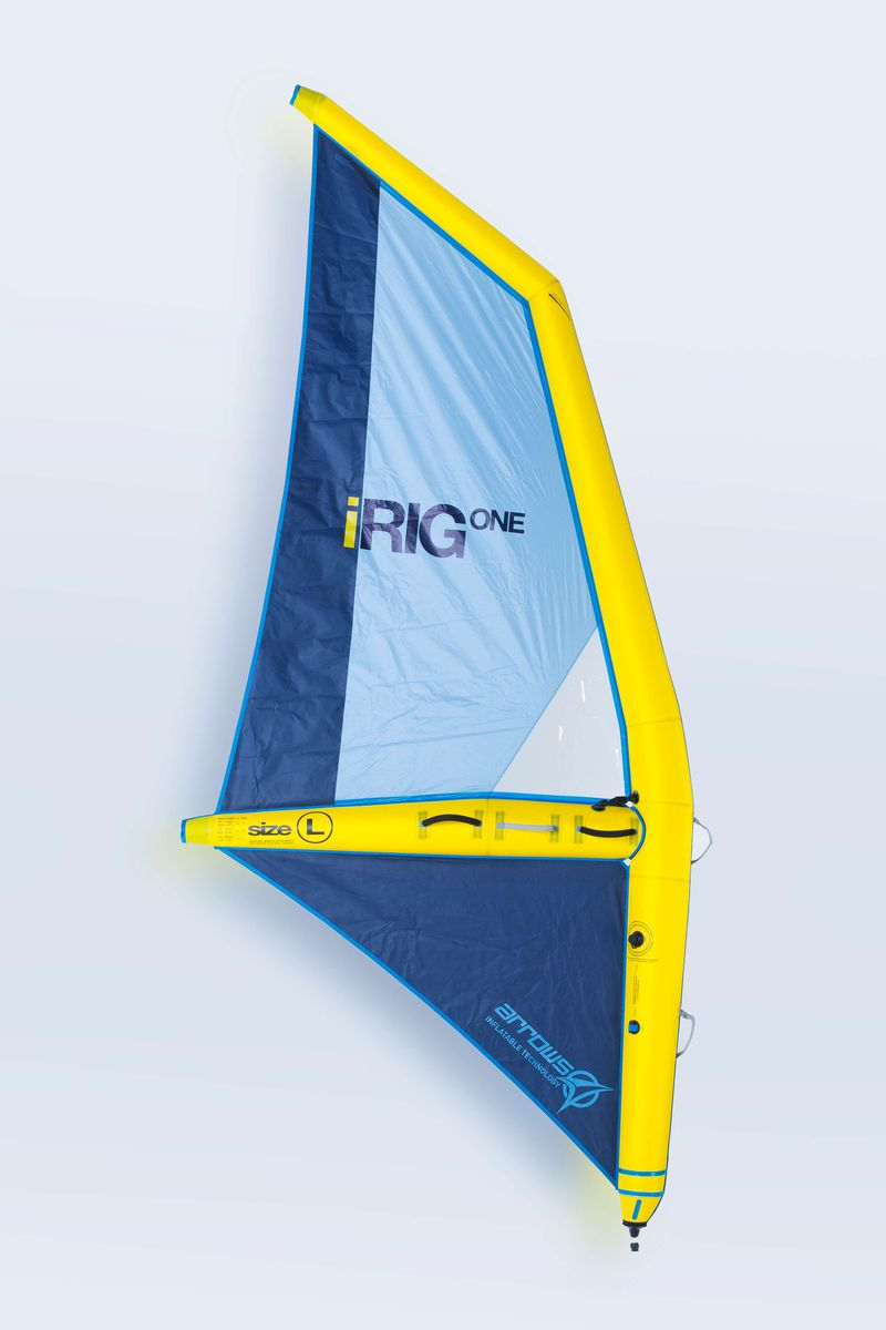 IRig One L aufblasbares Windsurf Segel Arrows