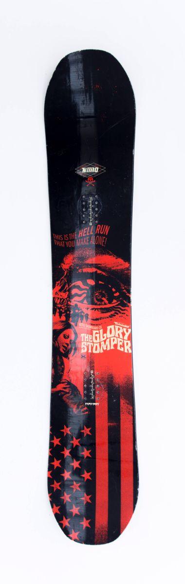 Glory Stomper 154 cm Snowboard Nitro 2016 gebraucht