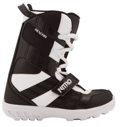 Reverb youth black white Snowboardboot Kinder Nitro