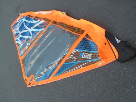Pure blue 4,4 Windsurf Segel Ga Gaastra 2014
