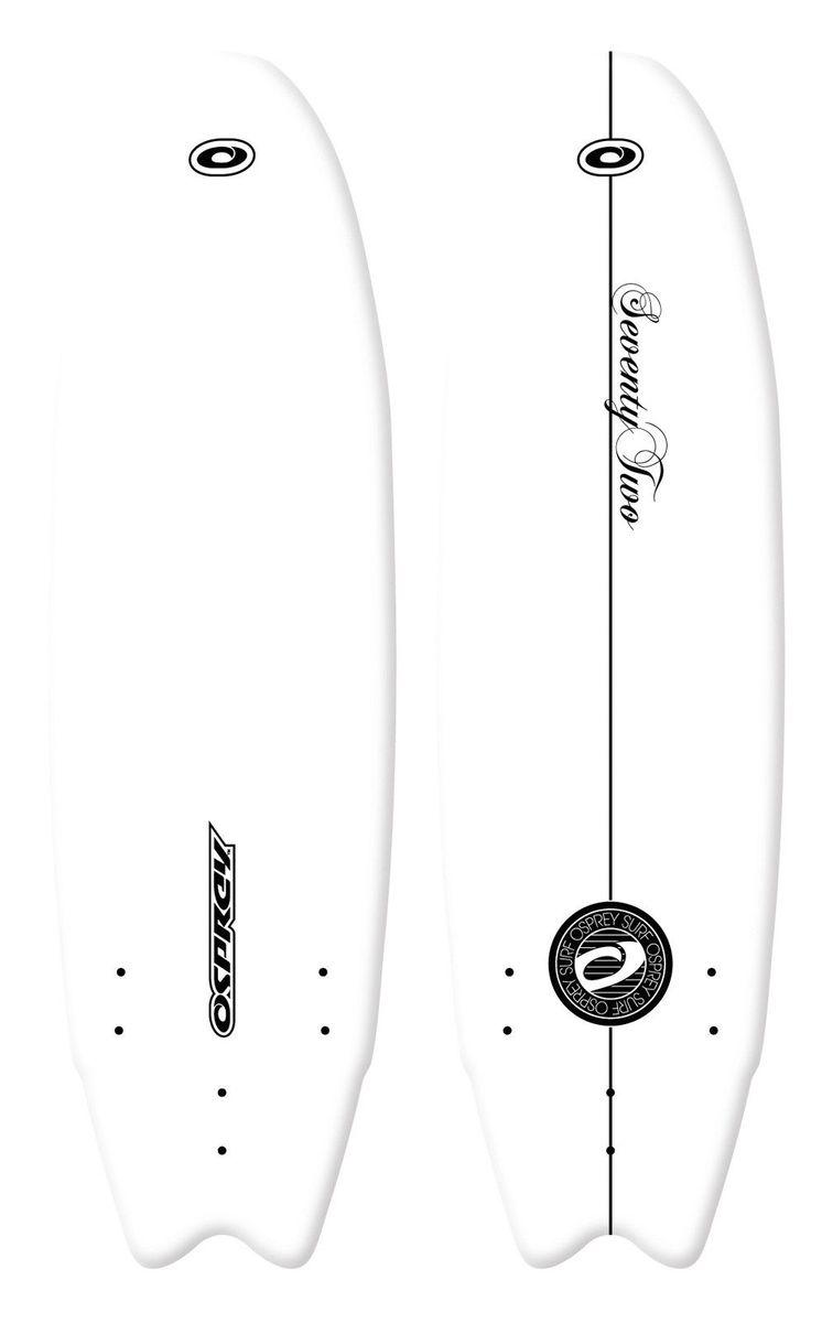 XPE Surfboard Foamie 6'0'' Wellenreiter Schaumboard Osprey