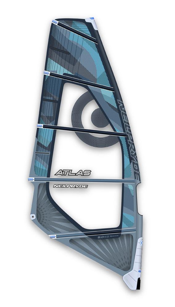 Atlas C3 blau Windsurf Segel Neilpryde 2015