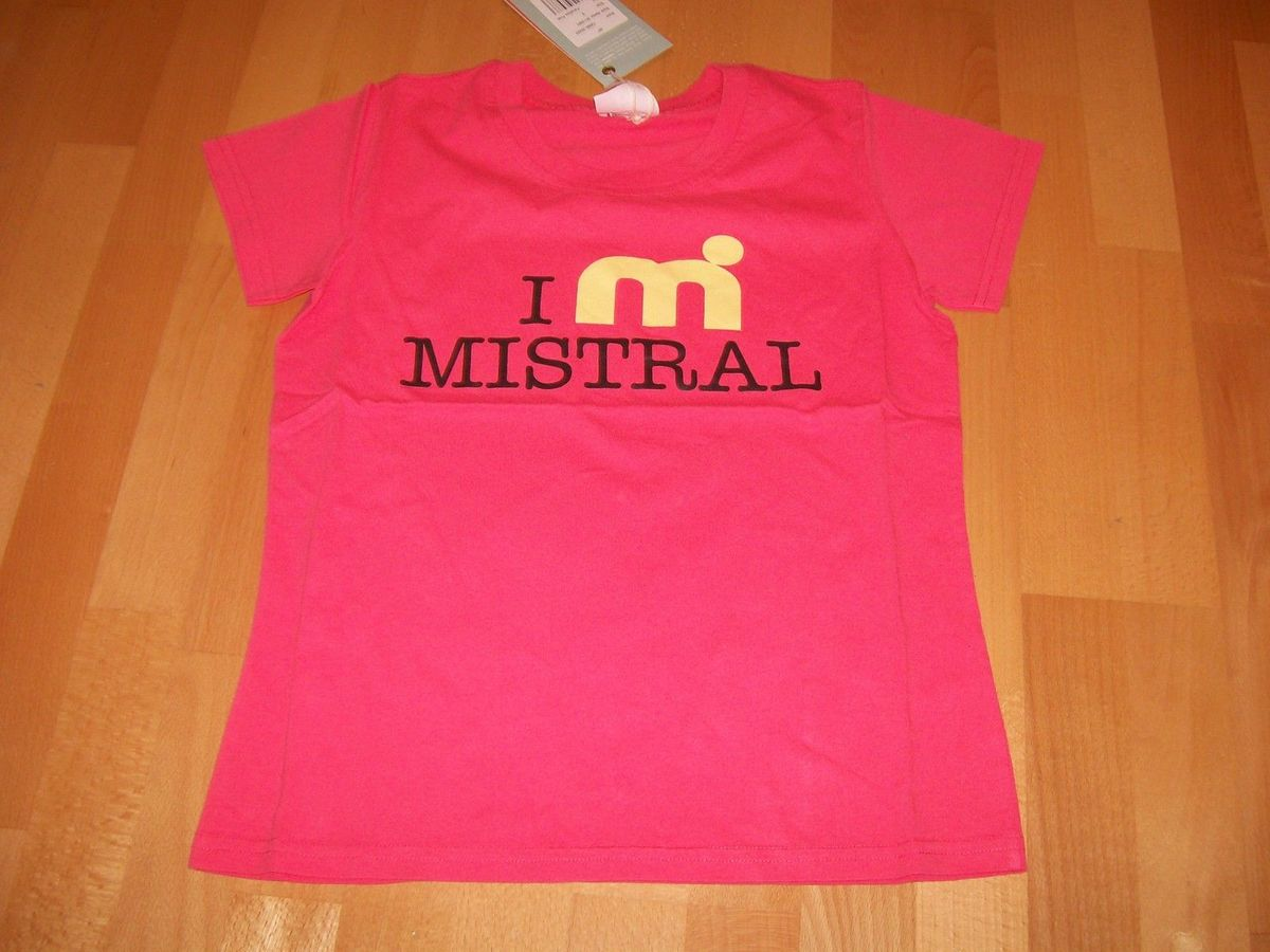 Mistral T-Shirt pink-yellow