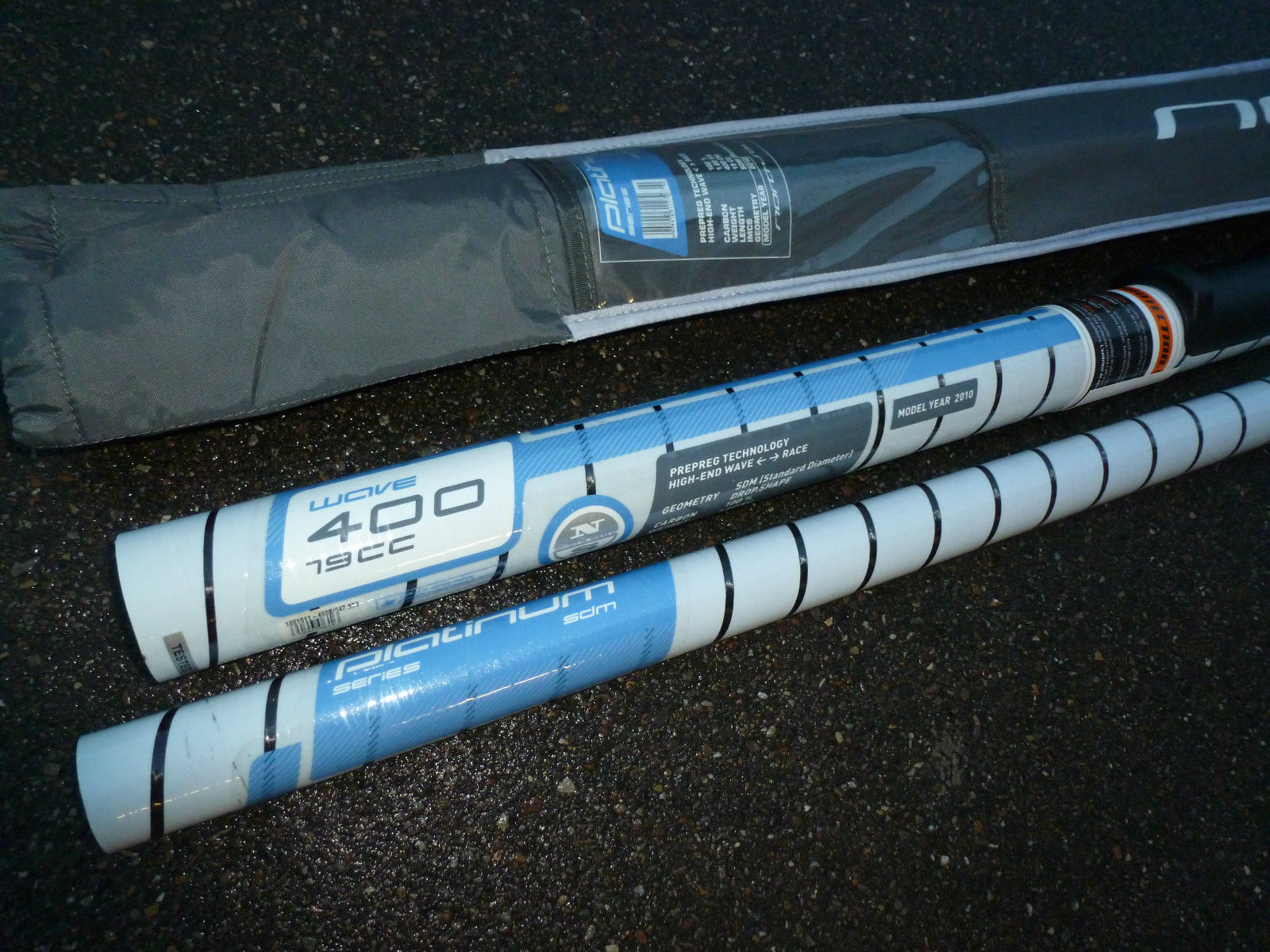 Platinum SDM 100% Carbon 370 Mast mit Bag North Sails 2012