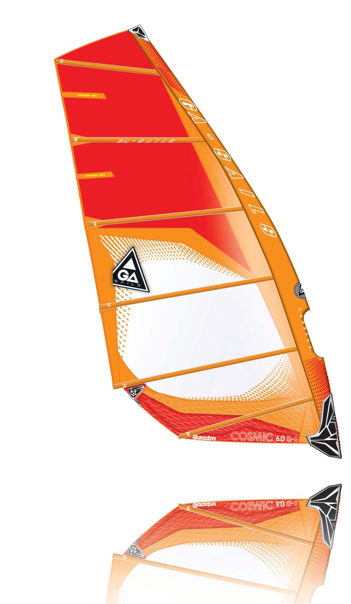 Cosmic C3 orange red Windsurf Segel Ga Gaastra 2015