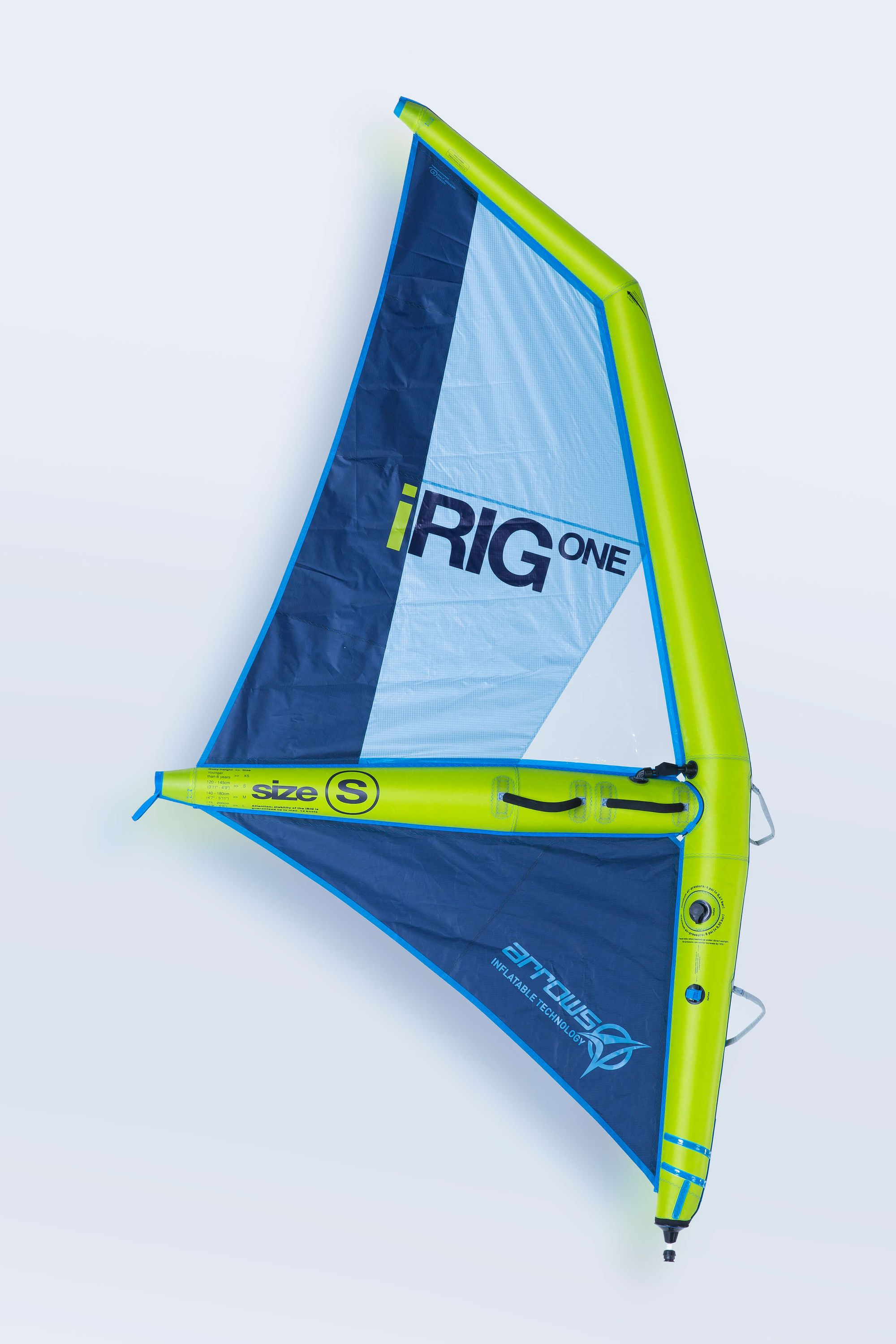 IRig One S aufblasbares Windsurf Segel Arrows