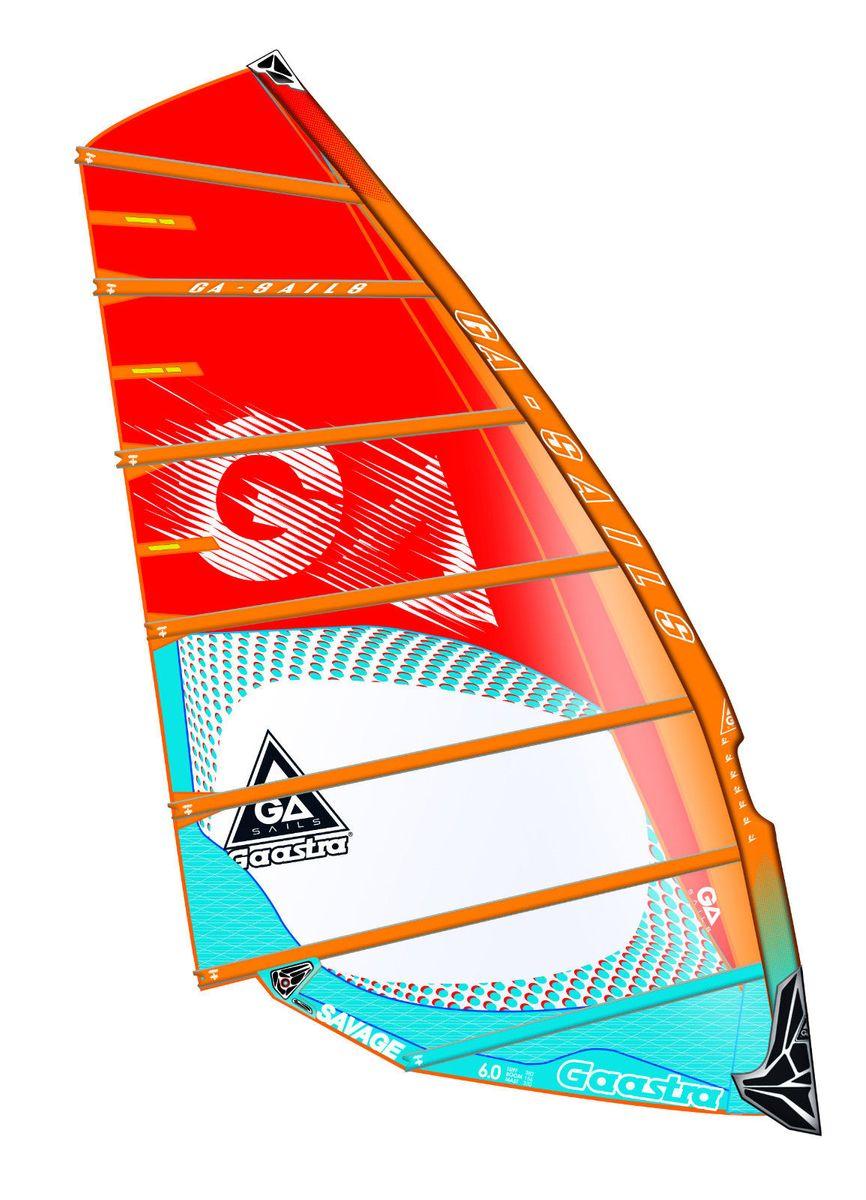 Savage 8,6 C4 blue orange red Windsurf Segel Ga Gaastra 2016