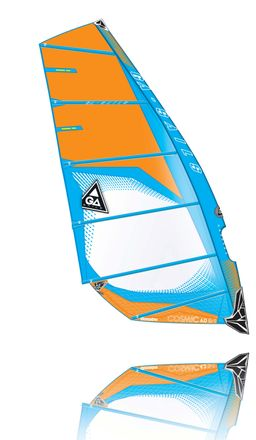 Cosmic C1 orange blue Windsurf Segel Ga Gaastra 2015