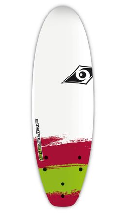 Paint Shortboard 5'6'' Softboard Wellenreiter für Kinder BIC 2017