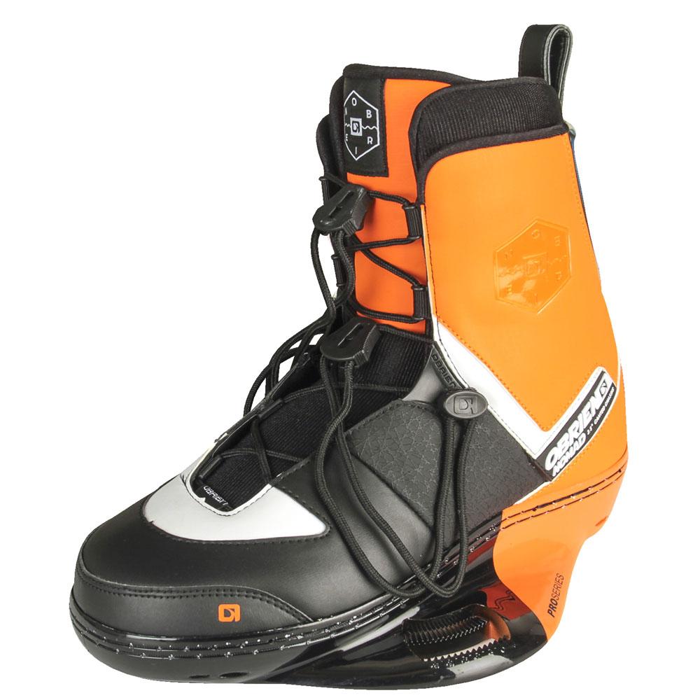 Nomad Black Orange Wakeboard Bindung Obrien 2017