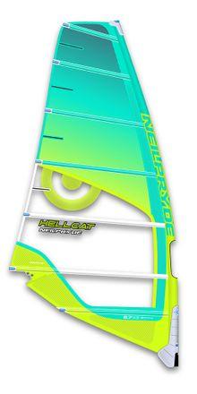 Hellcat C1 blue Windsurf Segel Neilpryde 2017