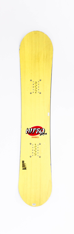 Ripper Youth 132 cm Kinder Snowboard Nitro 2015 gebraucht