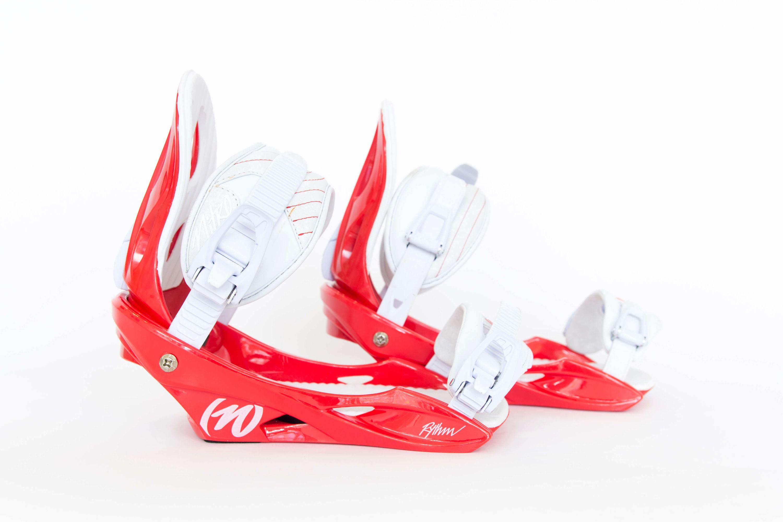 Rythm red Snowboardbindung Nitro 2017 gebraucht