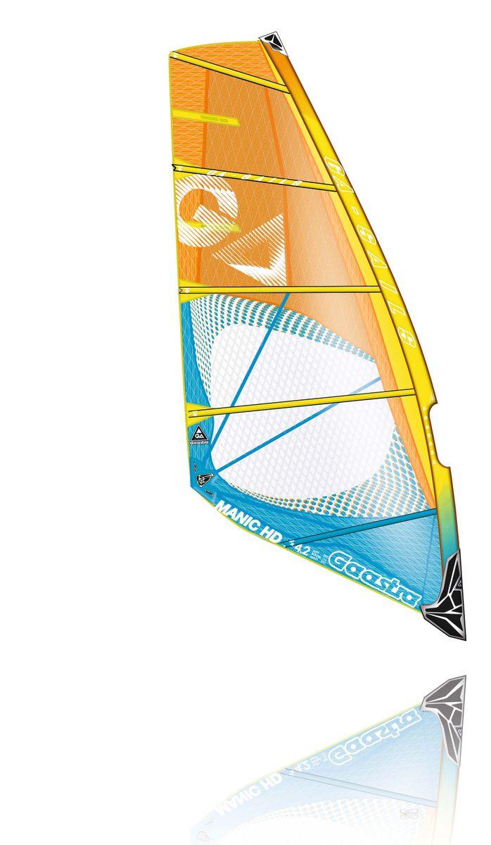 Manic HD 5,7 C2 blue orange Windsurf Segel Ga Gaastra 2016