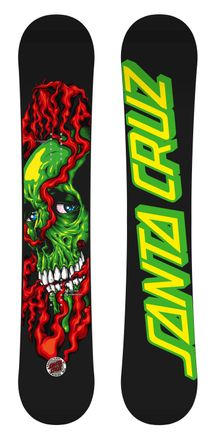 Shred Till Death  black-red Snowboard Santa Cruz 2017