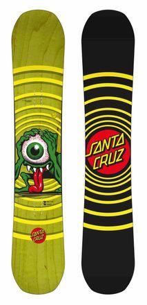 Eyegore green Snowboard Santa Cruz 2017