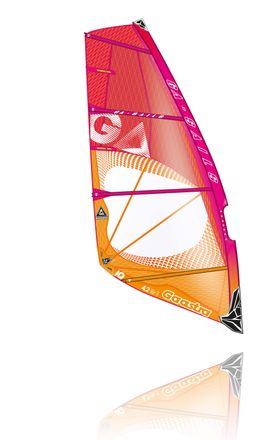 IQ 5,4 C6 pink orange Windsurf Segel Ga Gaastra 2016