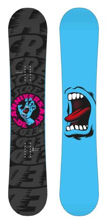 Screaming Hand 30th black Snowboard Santa Cruz 2017