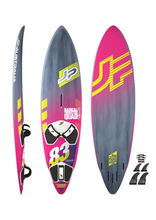 Radical Thruster Quad Pro Windsurfboard JP 2018