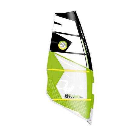 Super Session C14 black green Windsurf Segel North Sails 2018 B-Ware
