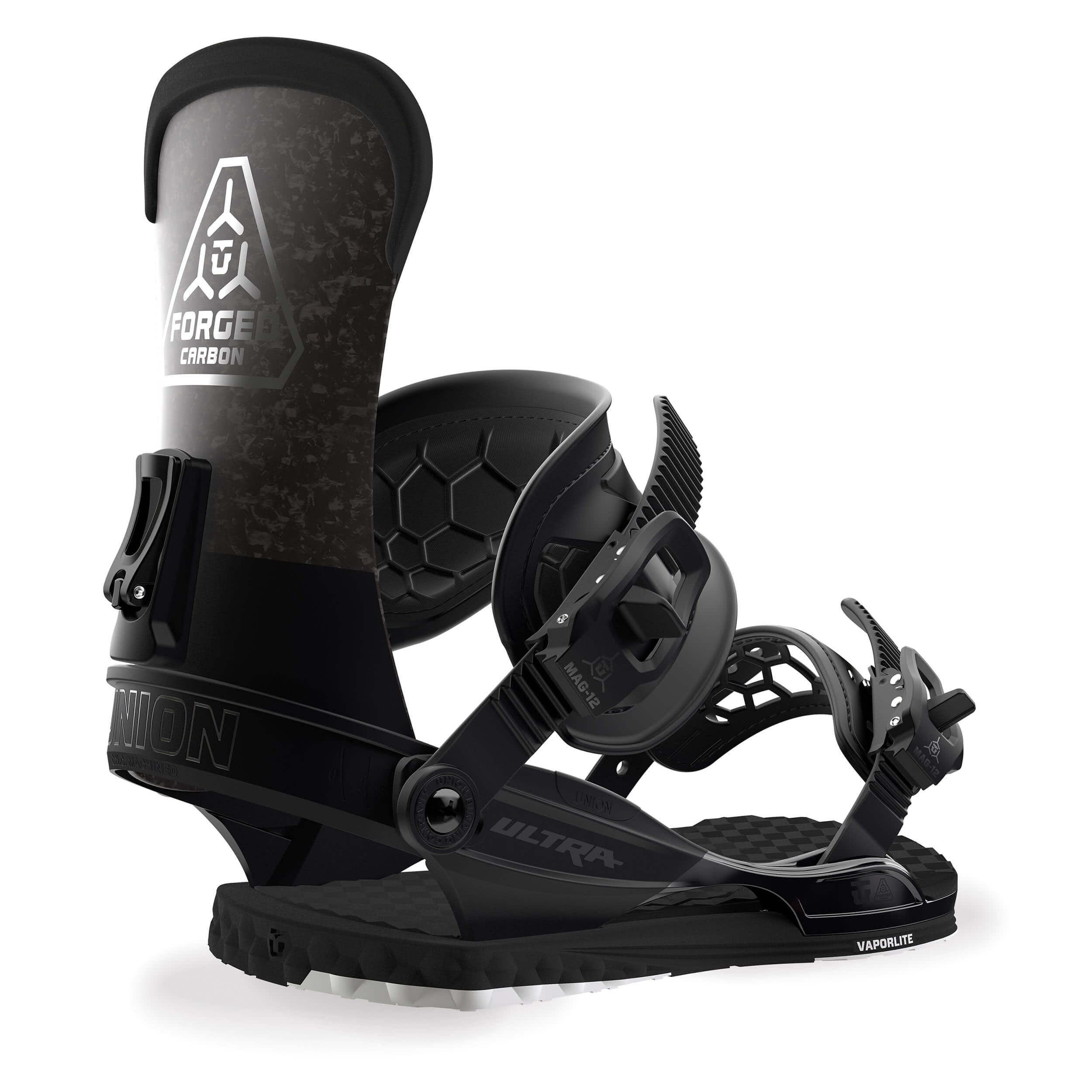 Ultra Black Snowboardbindung Union 2019