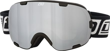Afterburner Dirty Dog Goggle Rahmenfarbe - Glasfarbe: Black - Grey/Silver Mirror
