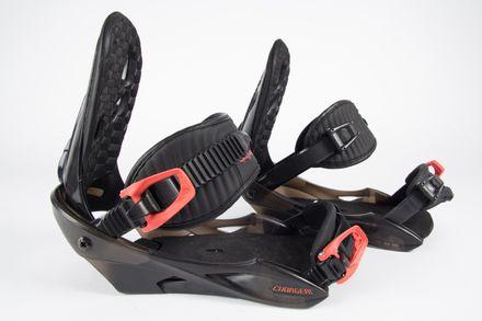 Charger red Snowboardbindung Nitro gebraucht