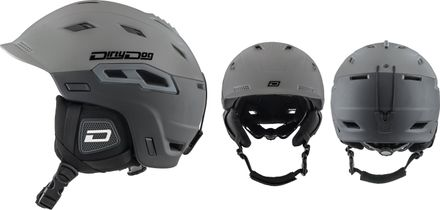 Crater Matt/Grey/Black Helm Dirty Dog