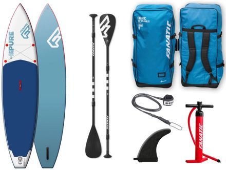 SUP Set Board und Paddel Pure Air Touring Fanatic 2018