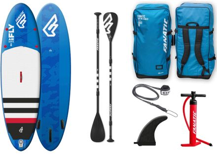 SUP Set Board und Paddel Fly Air Fanatic 2018