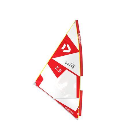 Drive Cloth Red-White Kinder Windsurf Segel Duotone 2019