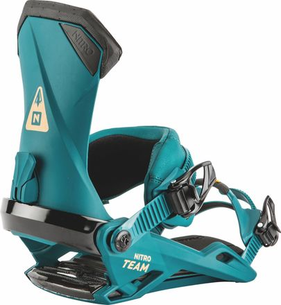 Team Deep Sea Snowboardbindung Nitro 2019