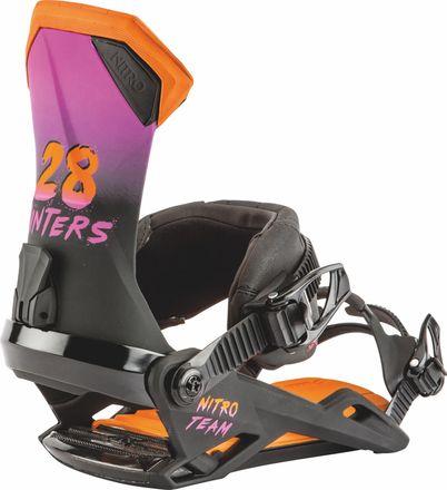 Team 28 Winters Snowboardbindung Nitro 2019