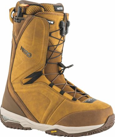 Team TLS Two Tone Brown Snowboardboot Nitro 2019