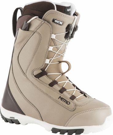 Cuda TLS Bone-Brown Snowboardboot Nitro 2019