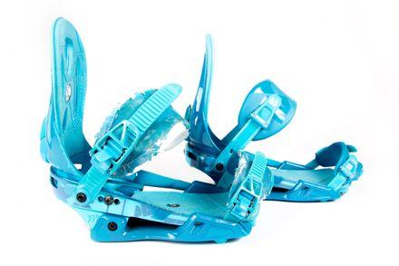Raiden Acid Blue Snowboardbindung Nitro gebraucht