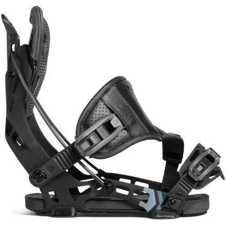 NX2 Black Hybrid Snowboardbindung Flow 2019