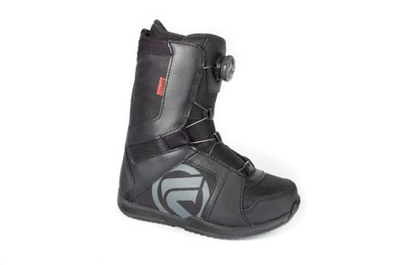 Vega Coiler black red Snowboardboot Flow