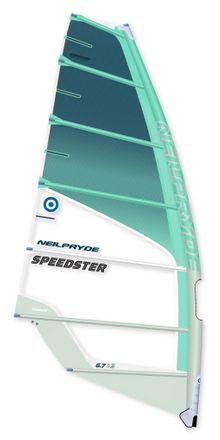 Speedster C3 Türkis Windsurf Segel Neilpryde 2019