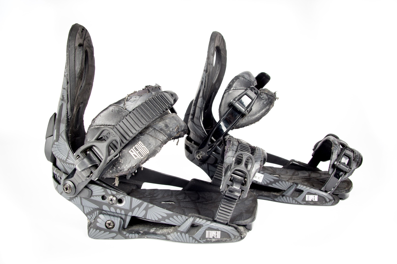 Eris black Snowboard Bindung Nitro 2014 gebraucht