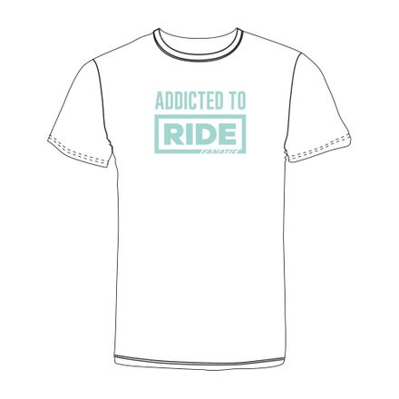 T-Shirt Girls Addicted to Ride Fanatic