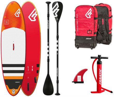 SUP Set Fly Air Premium Fanatic Board und Paddel 2019