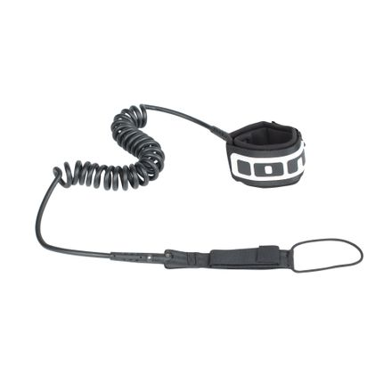 Core coiled black SUP Leash ION